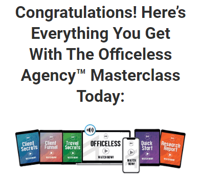 The Officeless Agency Masterclass Free Download