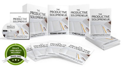 Unstoppable PLR - The Productive Solopreneur Free Download