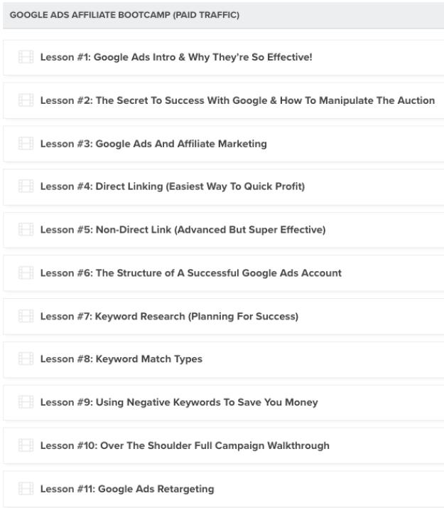 Liam James Kay – Google Ads Bootcamp