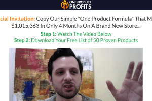 Nick Peroni - One Product Profits Update Download