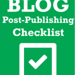 Blog Publishing Checklist Free Download