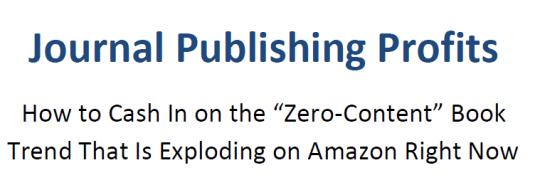 Journal Publishing Profits Free Download