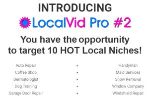 LocalVid Pro 2 + OTO's