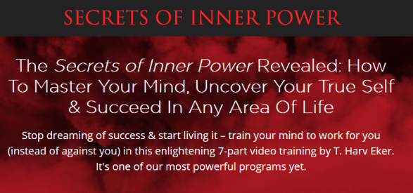 T Harv Eker - Secrets Of Inner Power Download