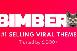Bimber – Viral Magazine WordPress Theme Free Download