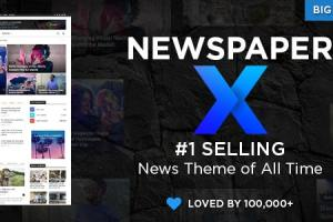 Newspaper – Blogs and Magazine WordPress Theme Free Download