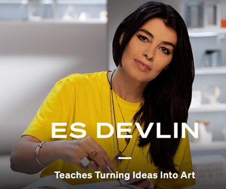MasterClass - Es Devlin Teaches Turning Ideas Into Art Free Download