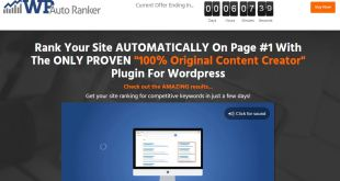 WP Auto Ranker - Rank your site on Google AUTOMATICALLY