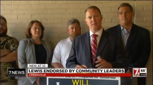 Community leaders endorse Lewis in GC sheriffs race_205929