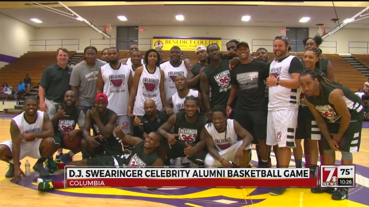 D.J. Swearinger Hosts 1st Annual USC Celebrity Alumni Basketball Game