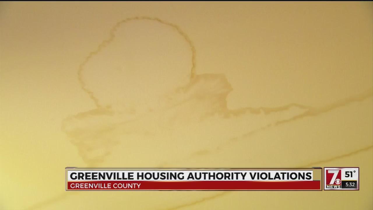 Greenville TGHA ceiling leak_507791