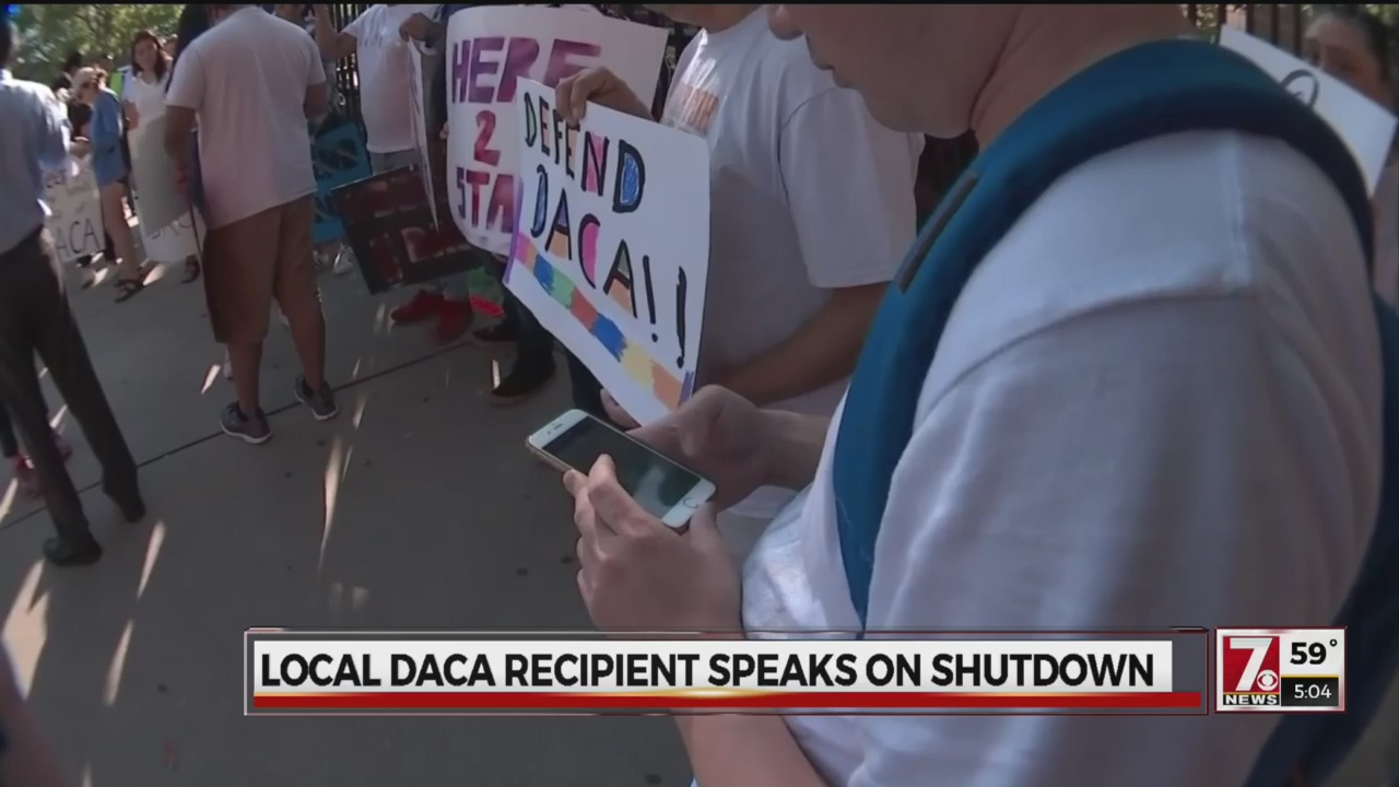 Shutdown impact on DACA
