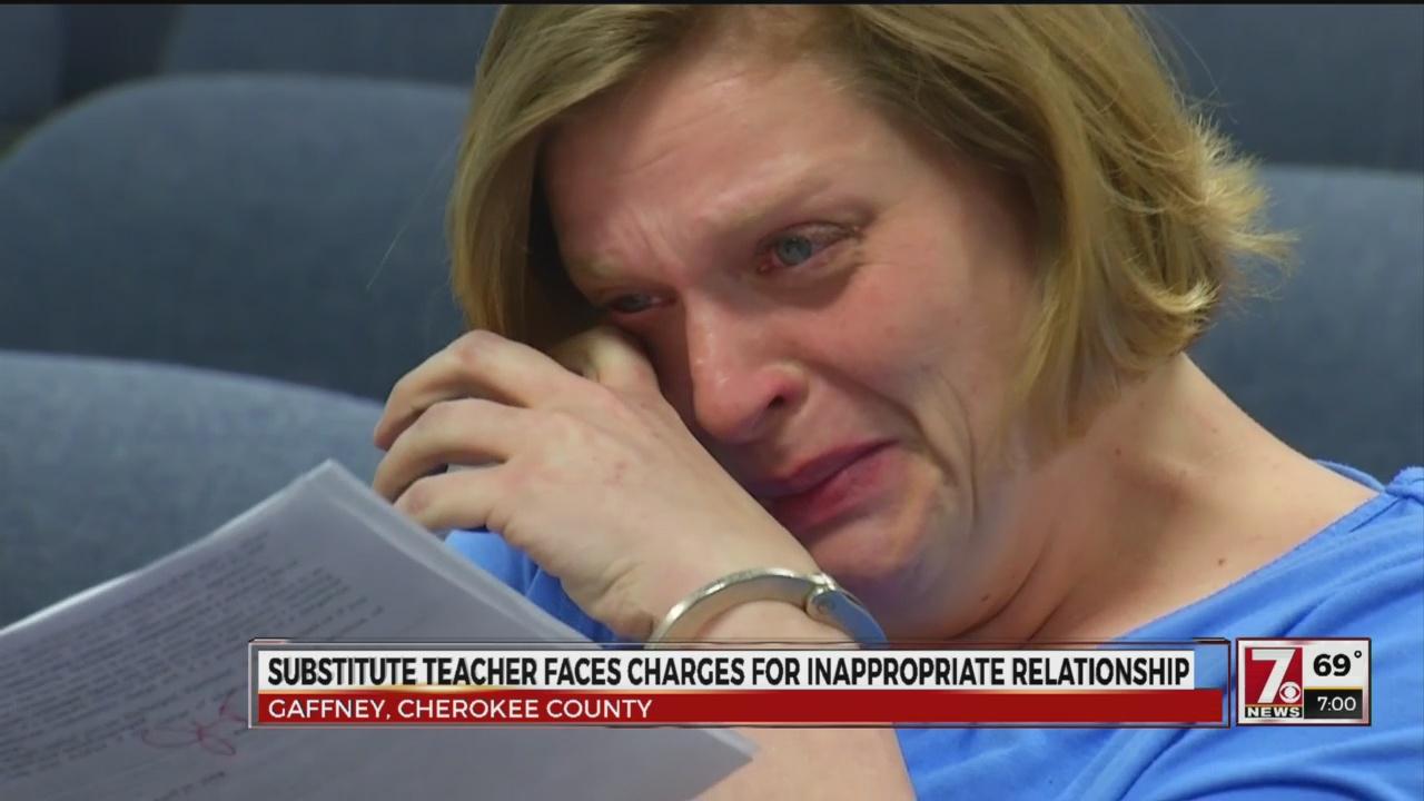 Substitute teacher arrested
