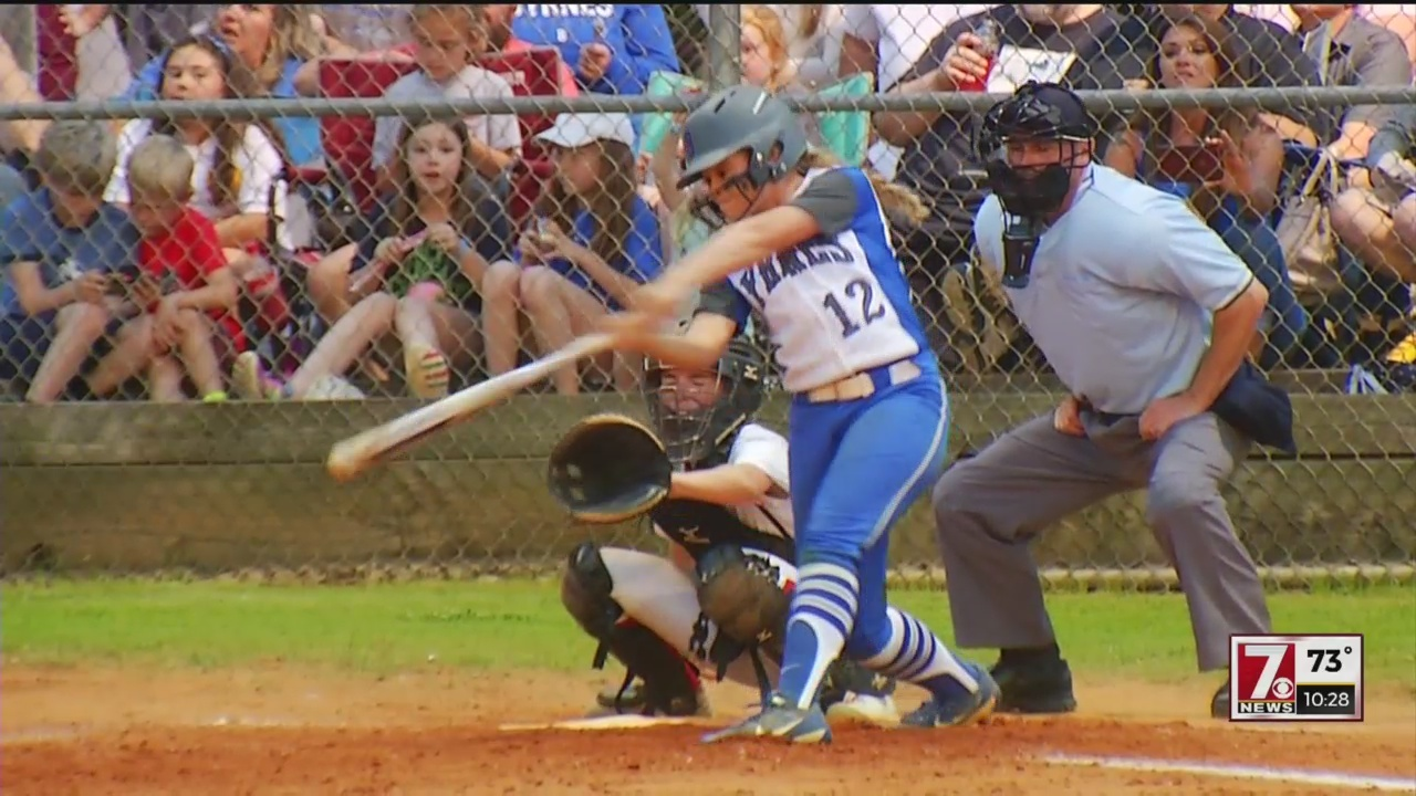 Byrnes Shuts Down Boiling Springs, 5-0 in 5A Softball Playoff Action