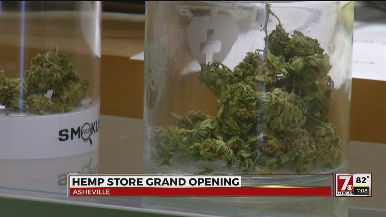Hemp dispensary opens in Asheville