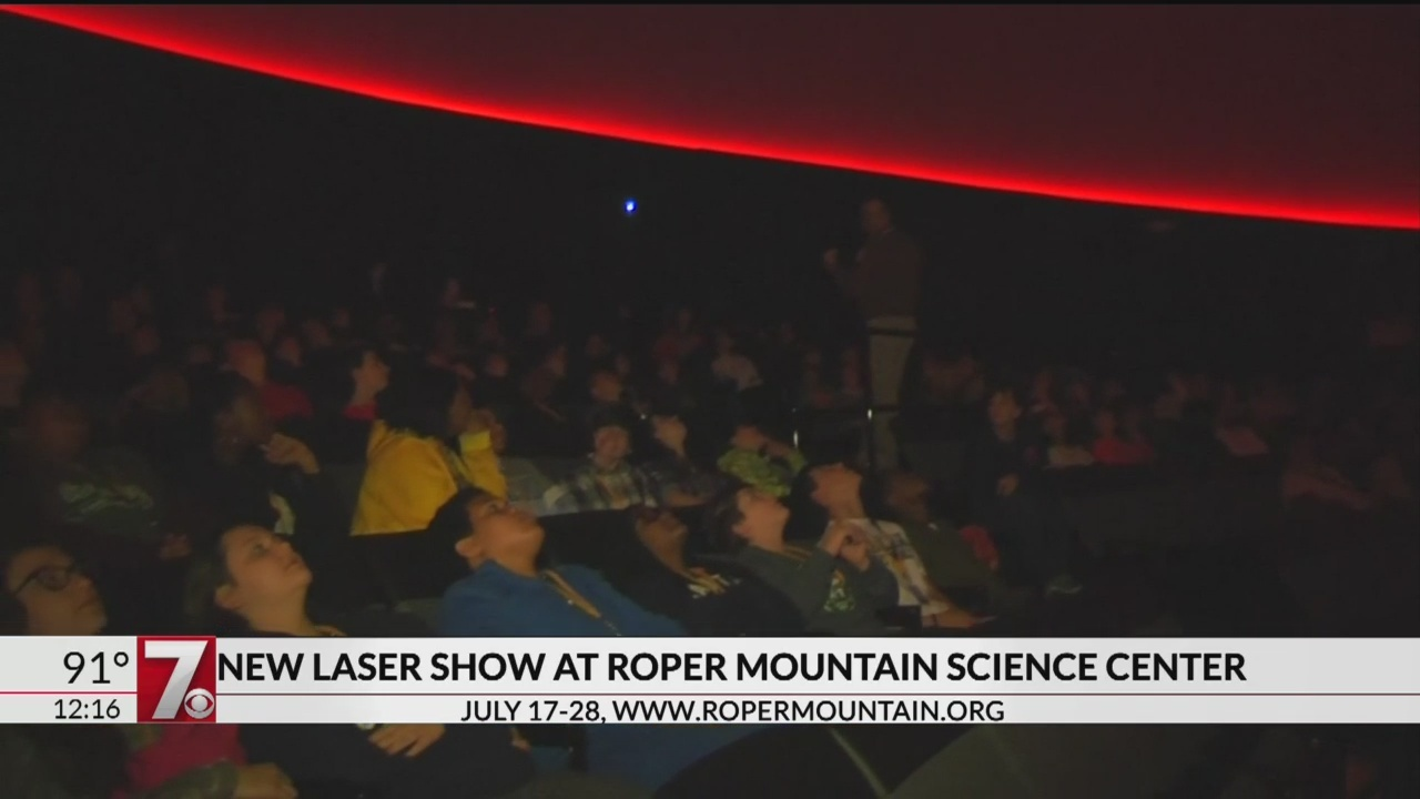 New laser show coming to Roper Mountain Science Center