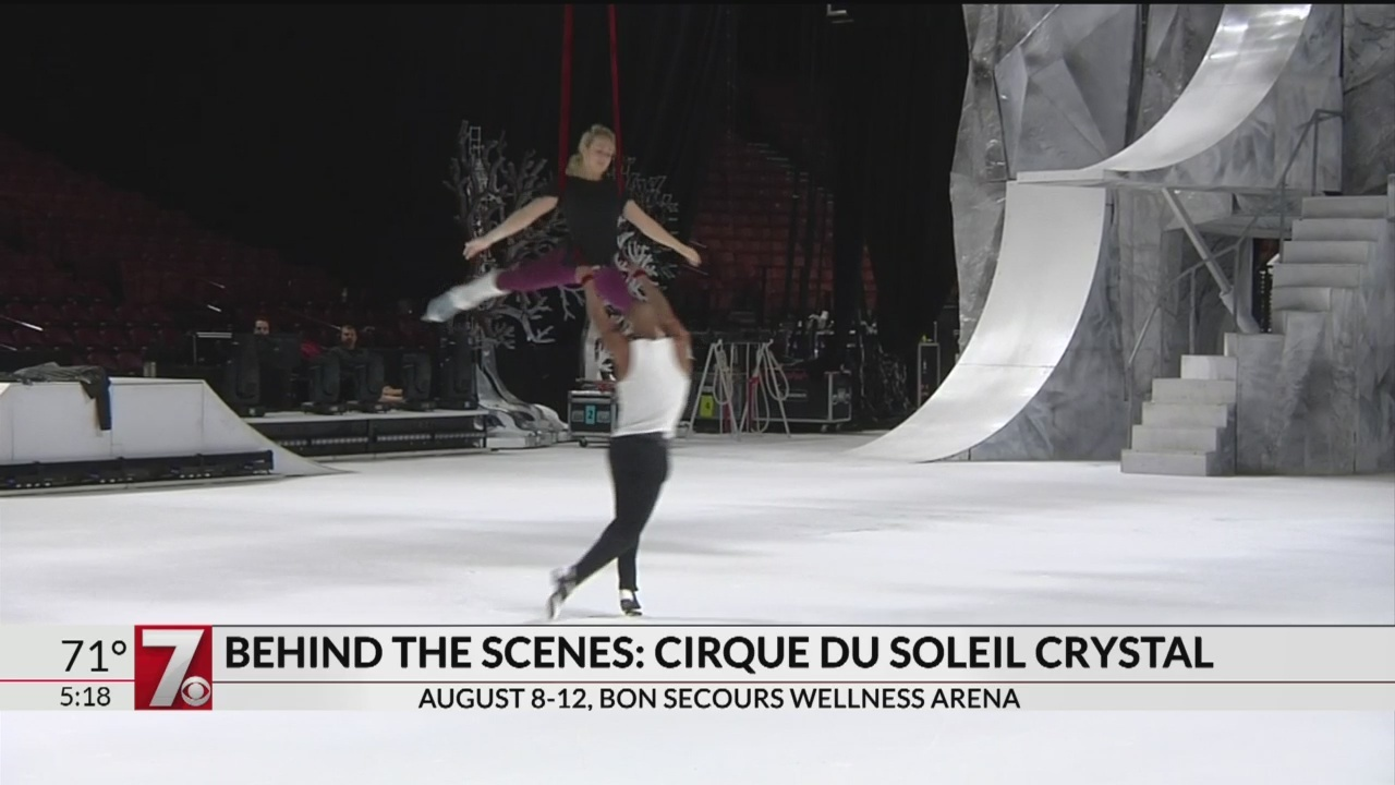 Behind the scenes of Cirque du Soleil's Crystal