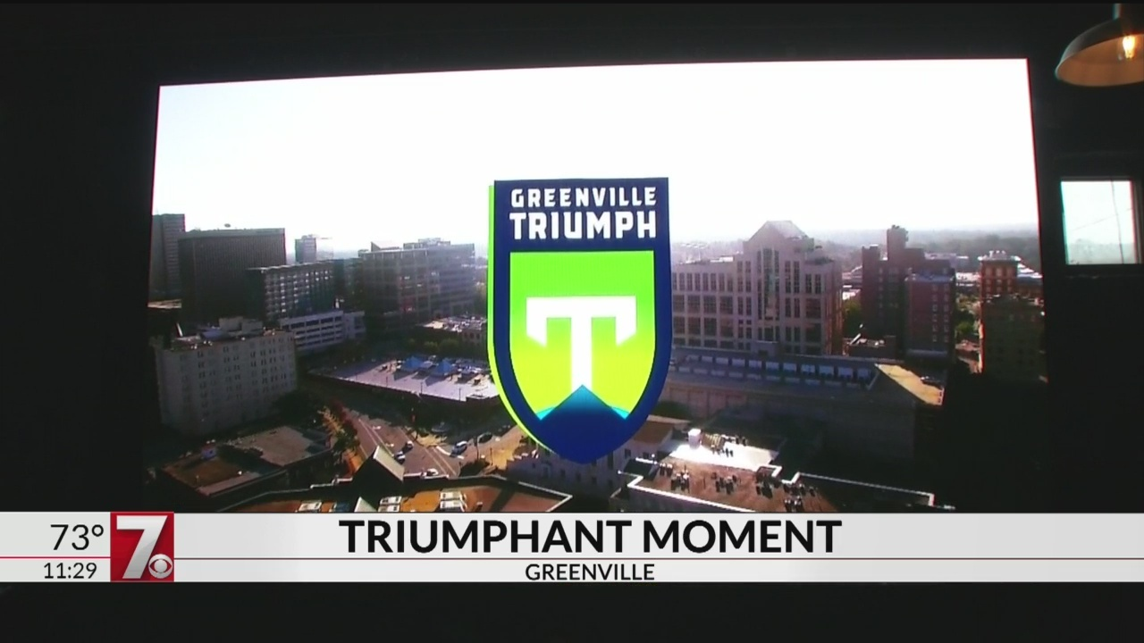 New Greenville Pro Soccer Team To Be Called The Triumph