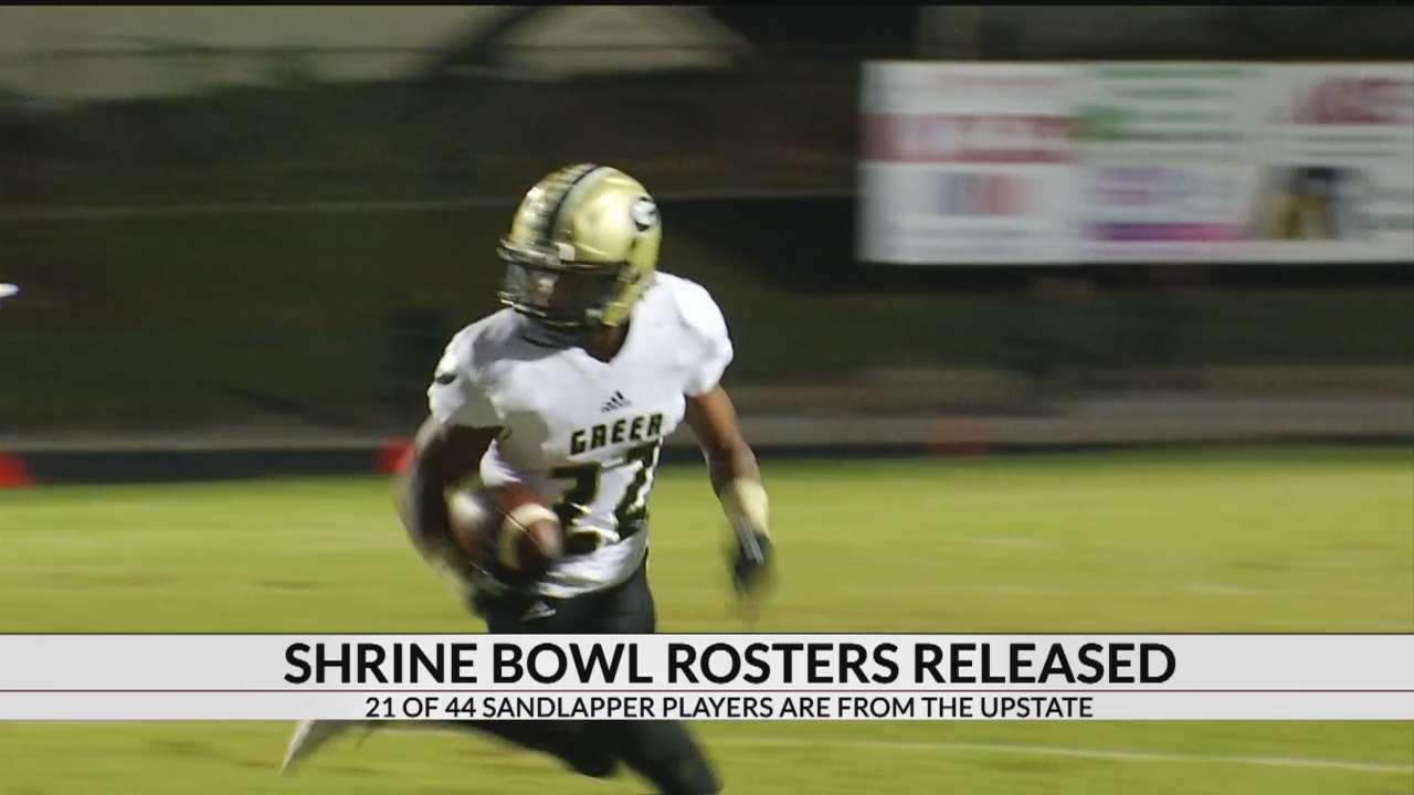 Shrine Bowl Rosters Released, 21 Upstate Athletes Make SC Squad