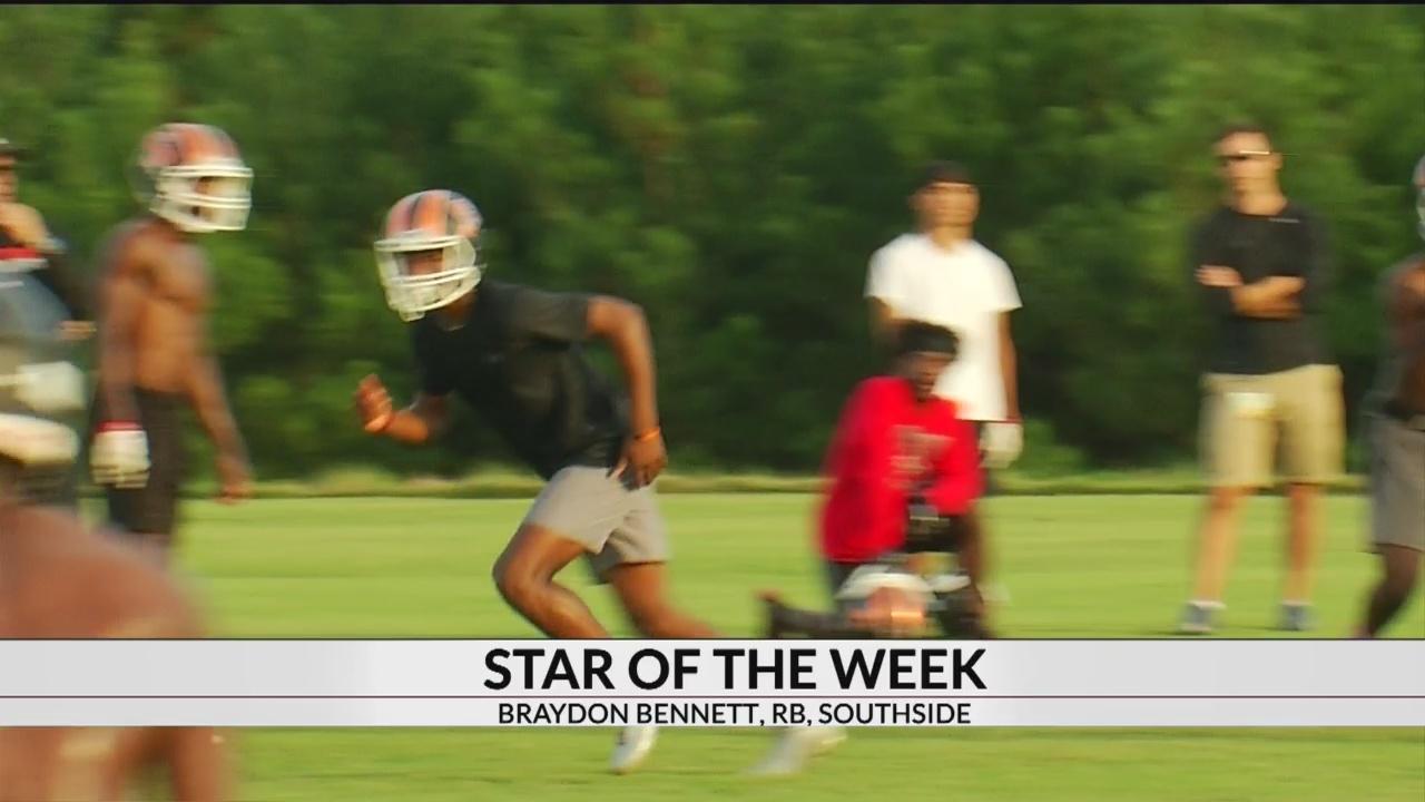 Star Of The Week: Braydon Bennett, RB, Southside