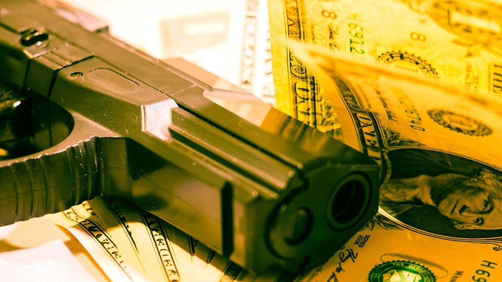 gun money armed robbery generic