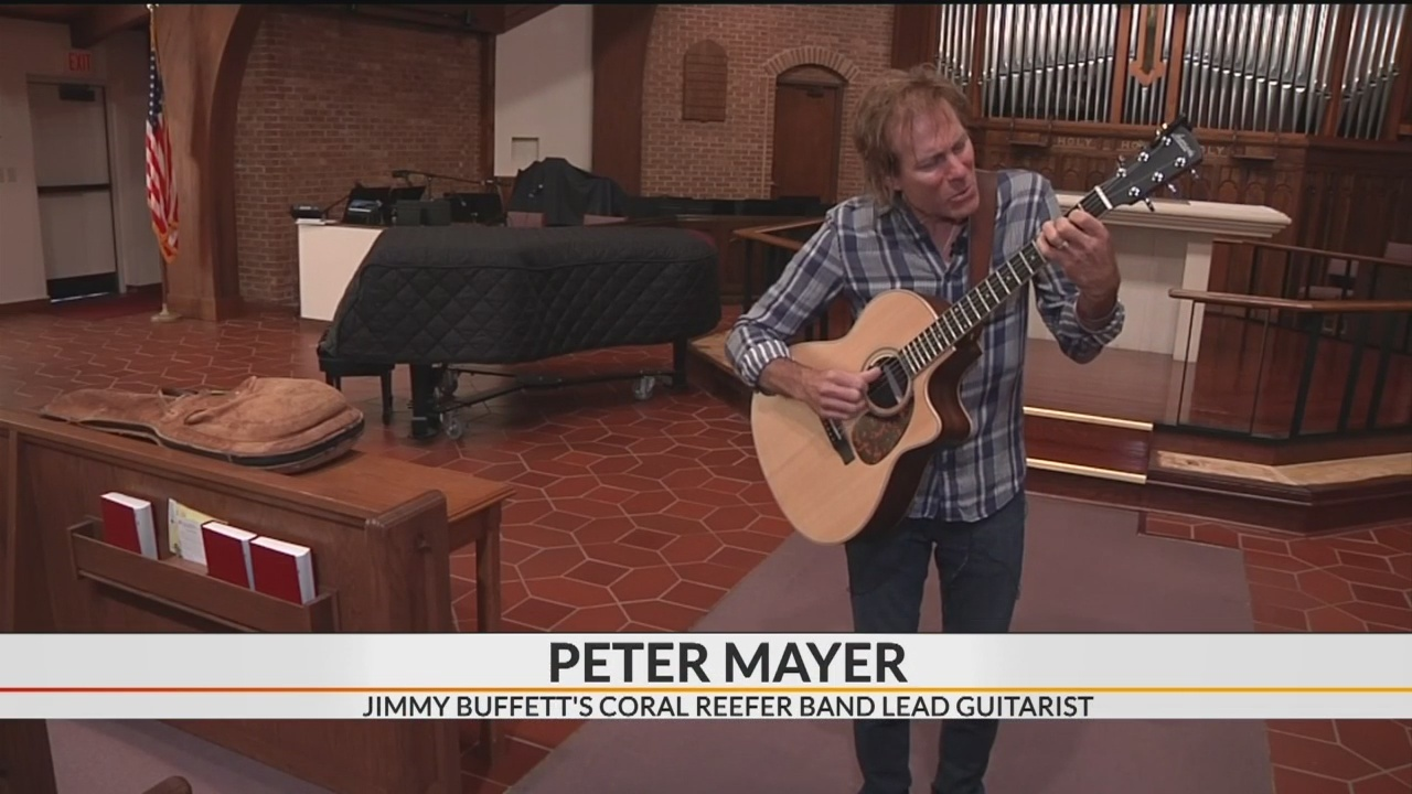 Jimmy Buffett lead guitarist Peter Mayer performing in Hendersonville