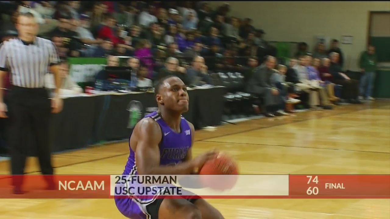 Furman Wins at USC Upstate, 74-60