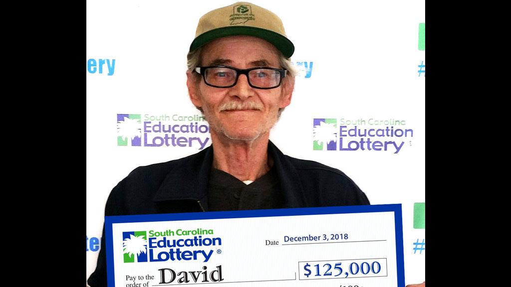 Greer man wins $125K on scratch-off lottery ticket