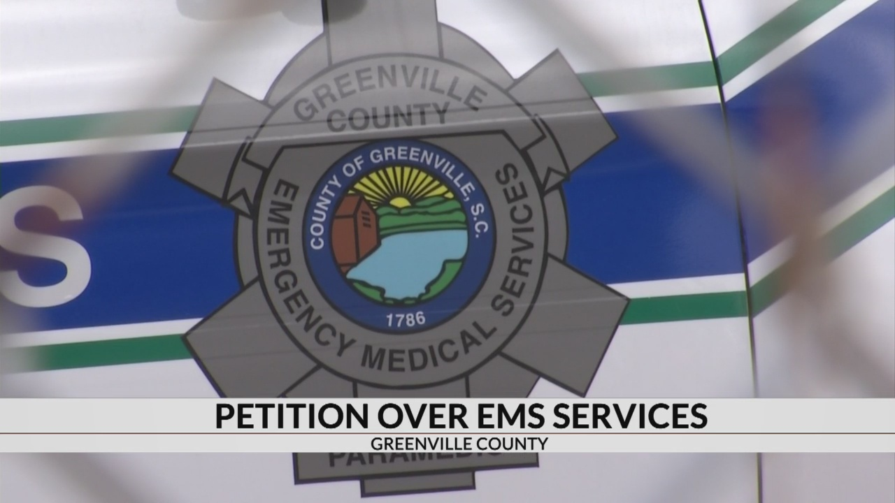 Retired paramedics agree with petition calling for intervention of Greenville County EMS