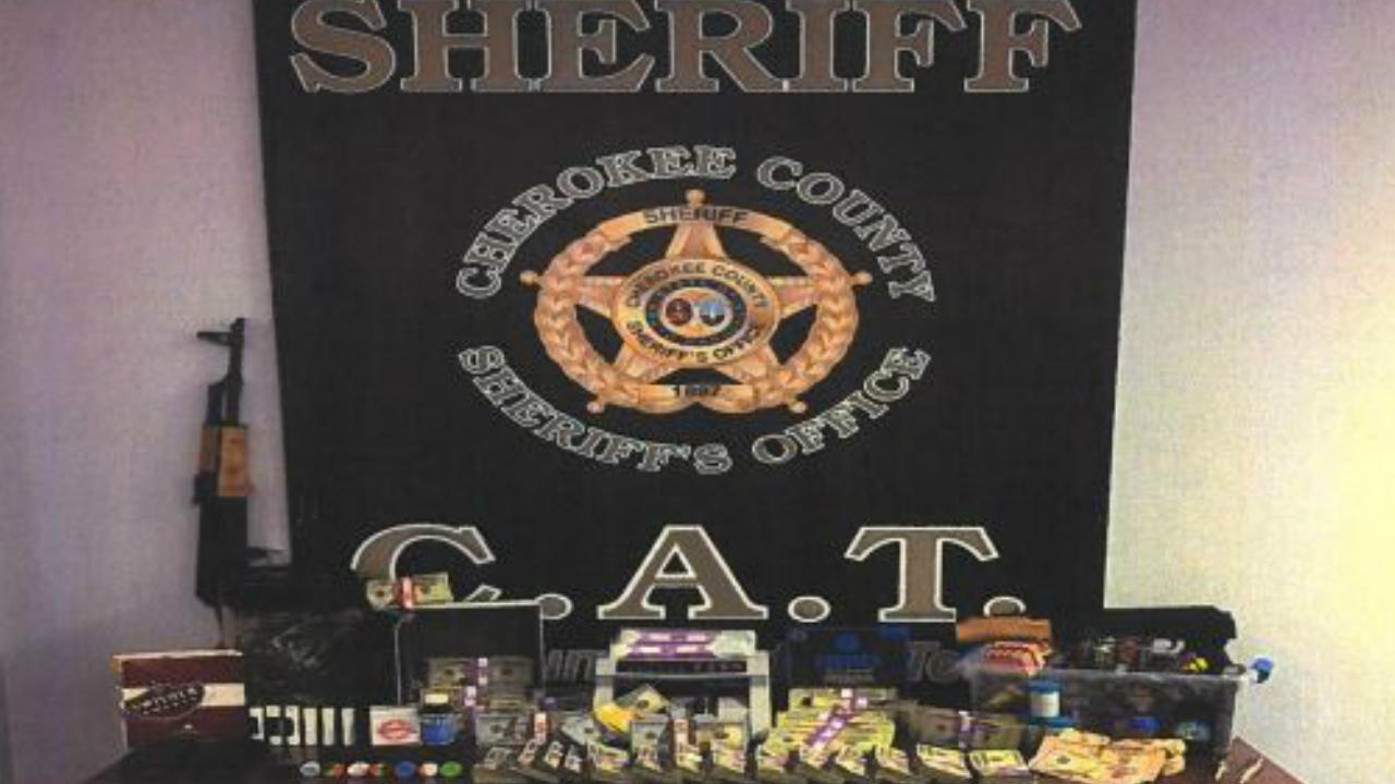 Cherokee Co  Narcotics CAT Officers arrest 2 men on drug charges