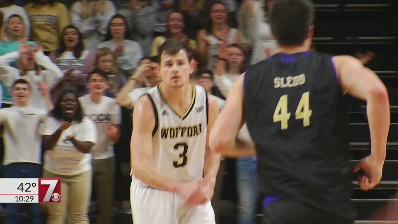 Magee Scores Game High 30 Points as Wofford Rolls Past Western Carolina, 83-56