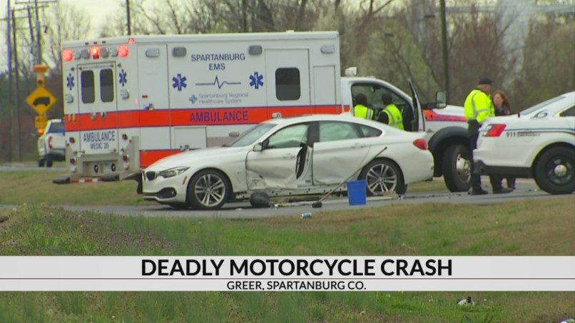 Man Killed In Motorcycle Crash Near Bmw