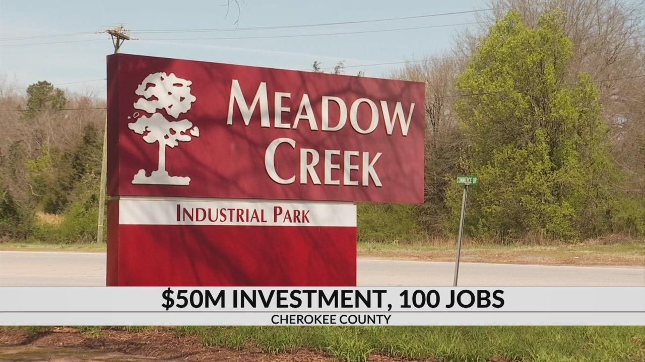 New Company coming to Cherokee County