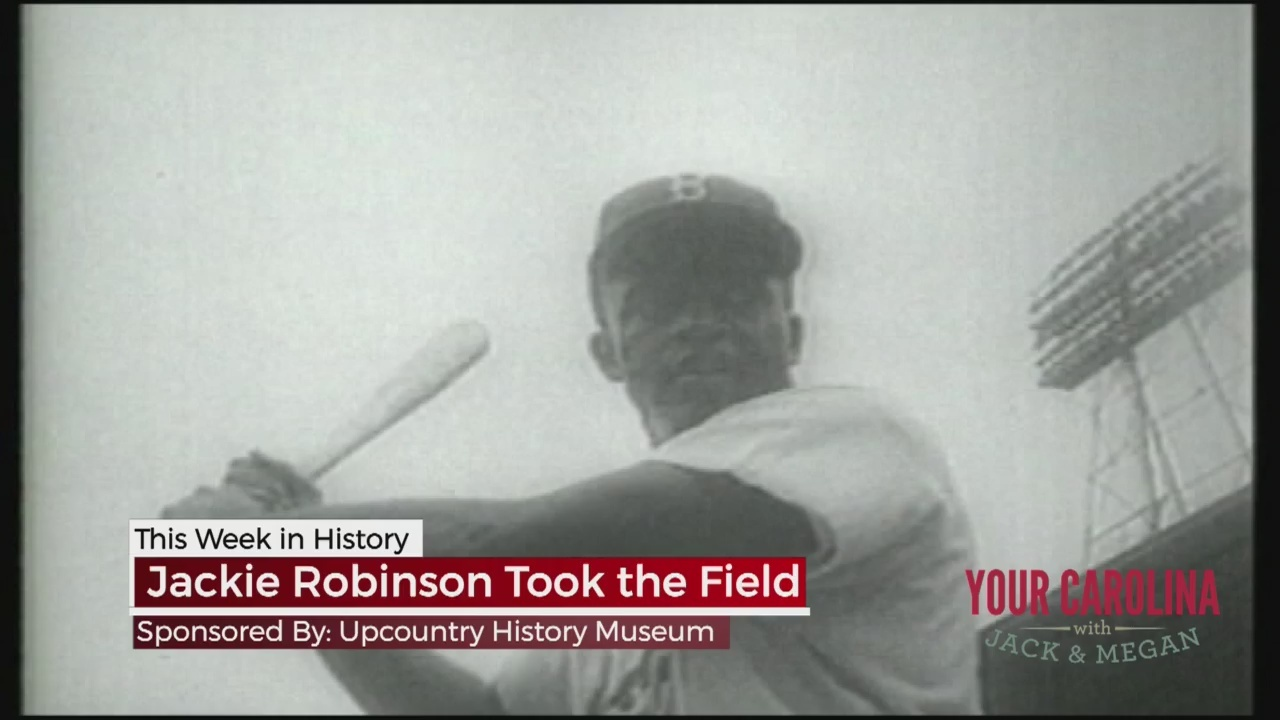This Week In History - Jackie Robinson Took the Field