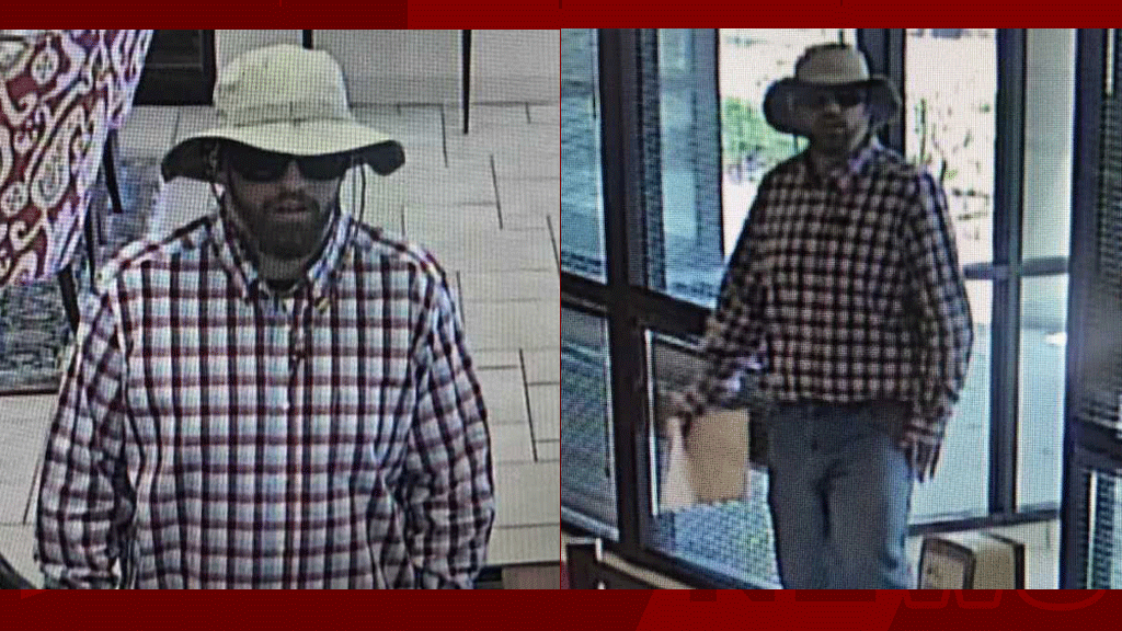 Police release photos of bank robbery suspect's vehicle in Asheville