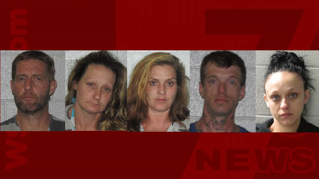 5 arrested on drug charges in Henderson Co