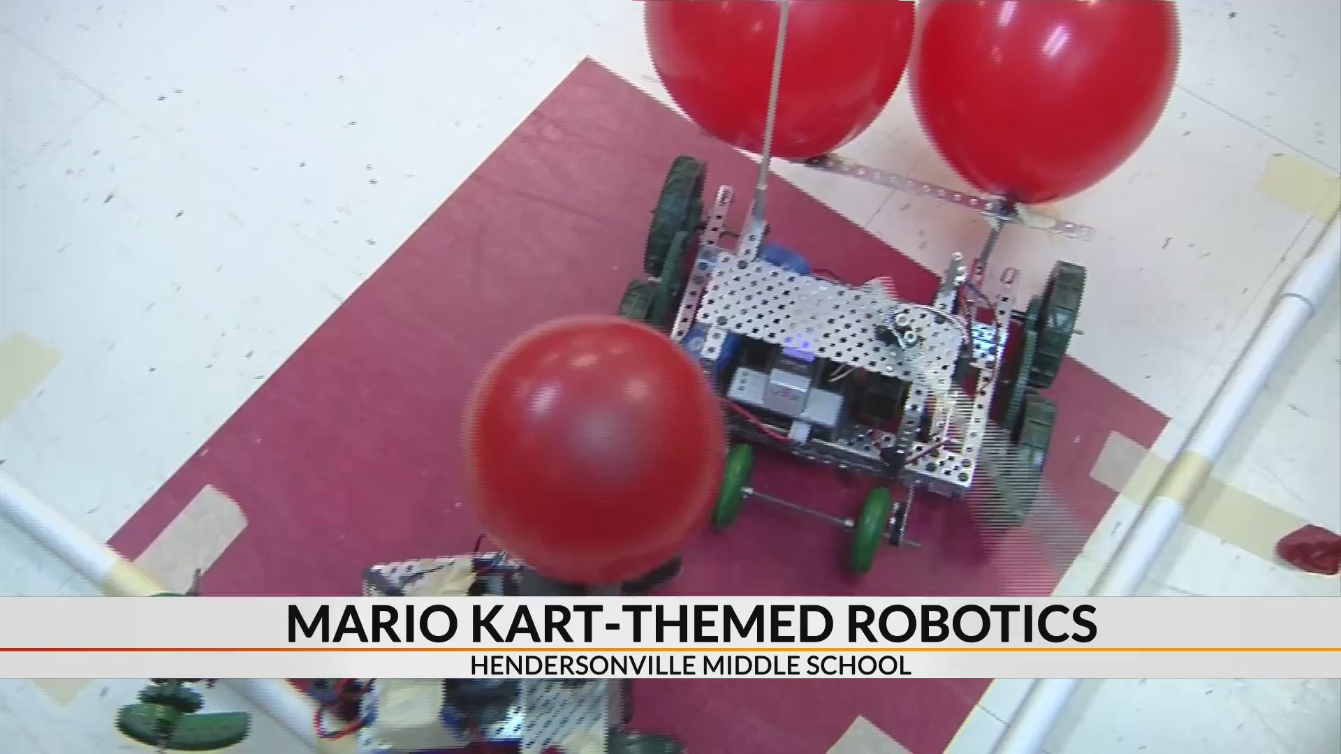 Mario-Kart themed robotics competition inspires Henderson Co. students