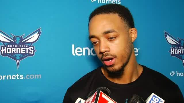Marcquise Discusses Monday's Work-Out With Hornets