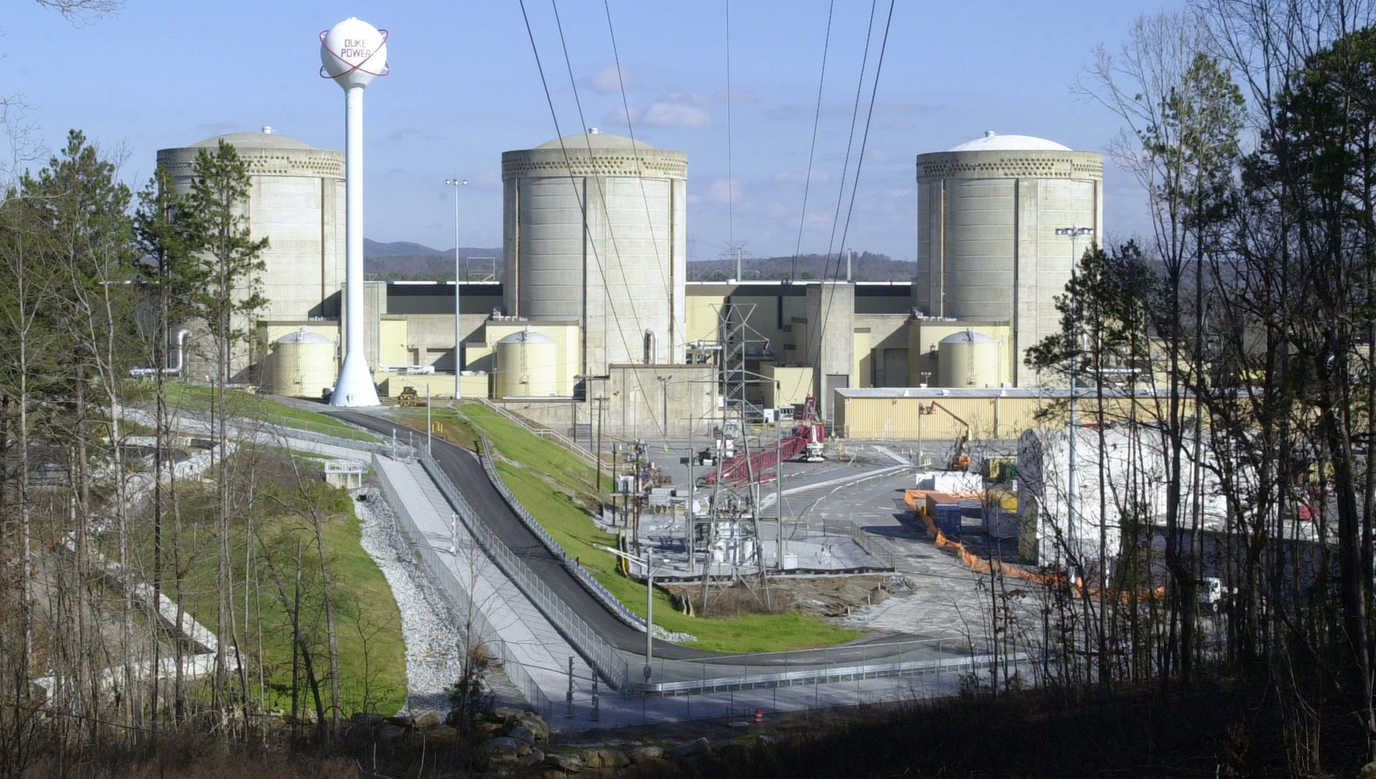 This Saturday, Jan. 8, 2005 file picture shows the Oconee Nuclear Station in Seneca, S.C.
