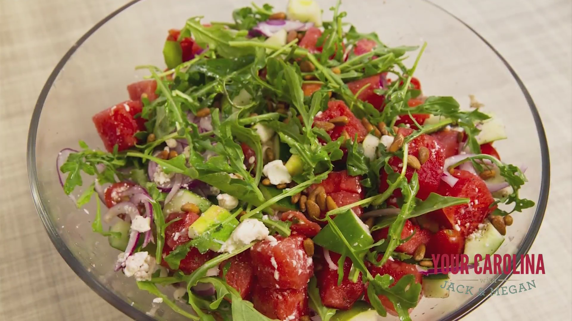 Chef's Kitchen - Greek-Style Watermelon Salad