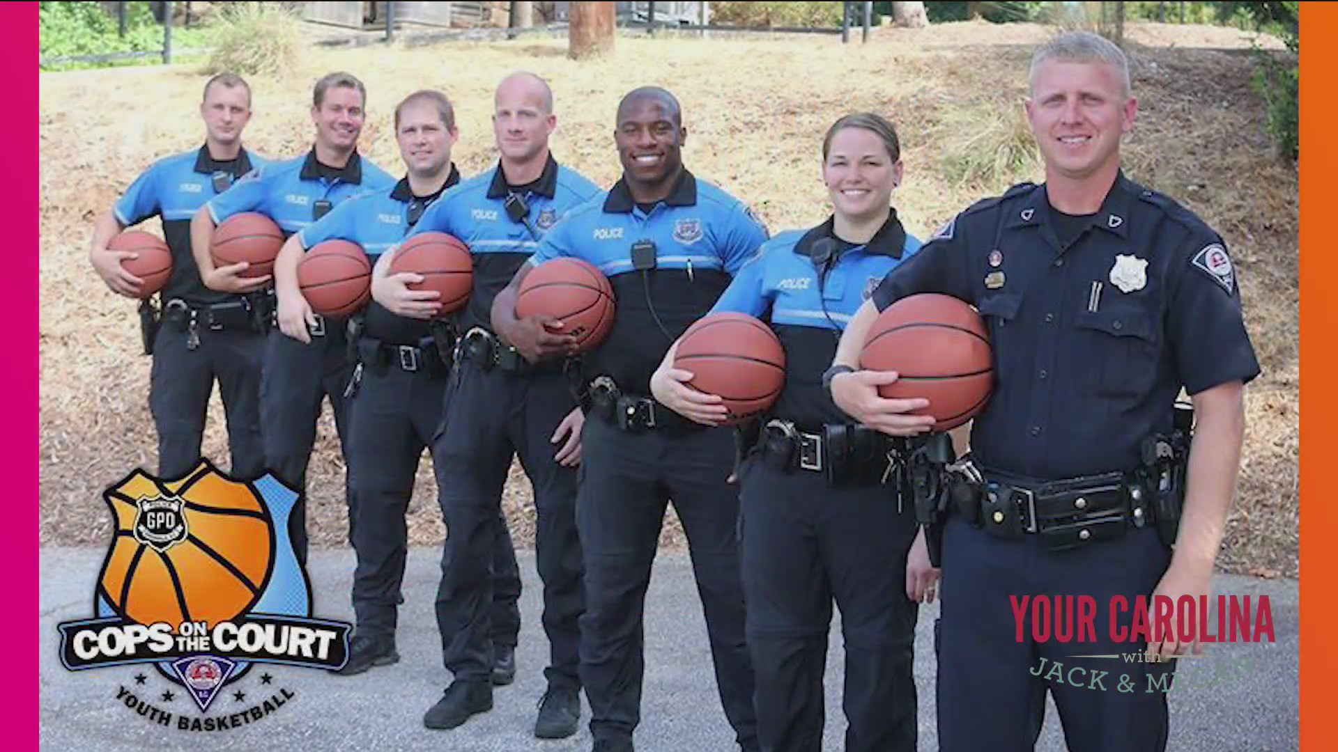 Good News - Cops on the Court