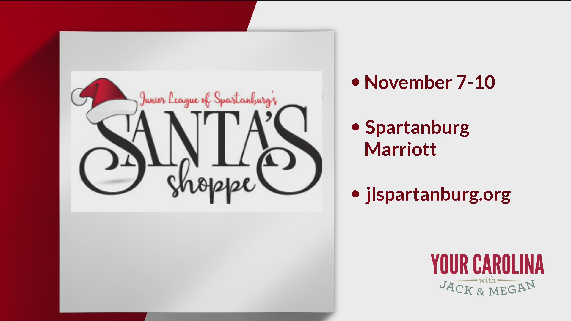31st Annual Santa's Shoppe