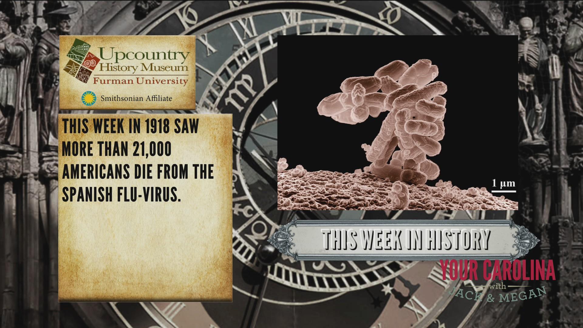 This Week In History - Spanish Flu-Virus