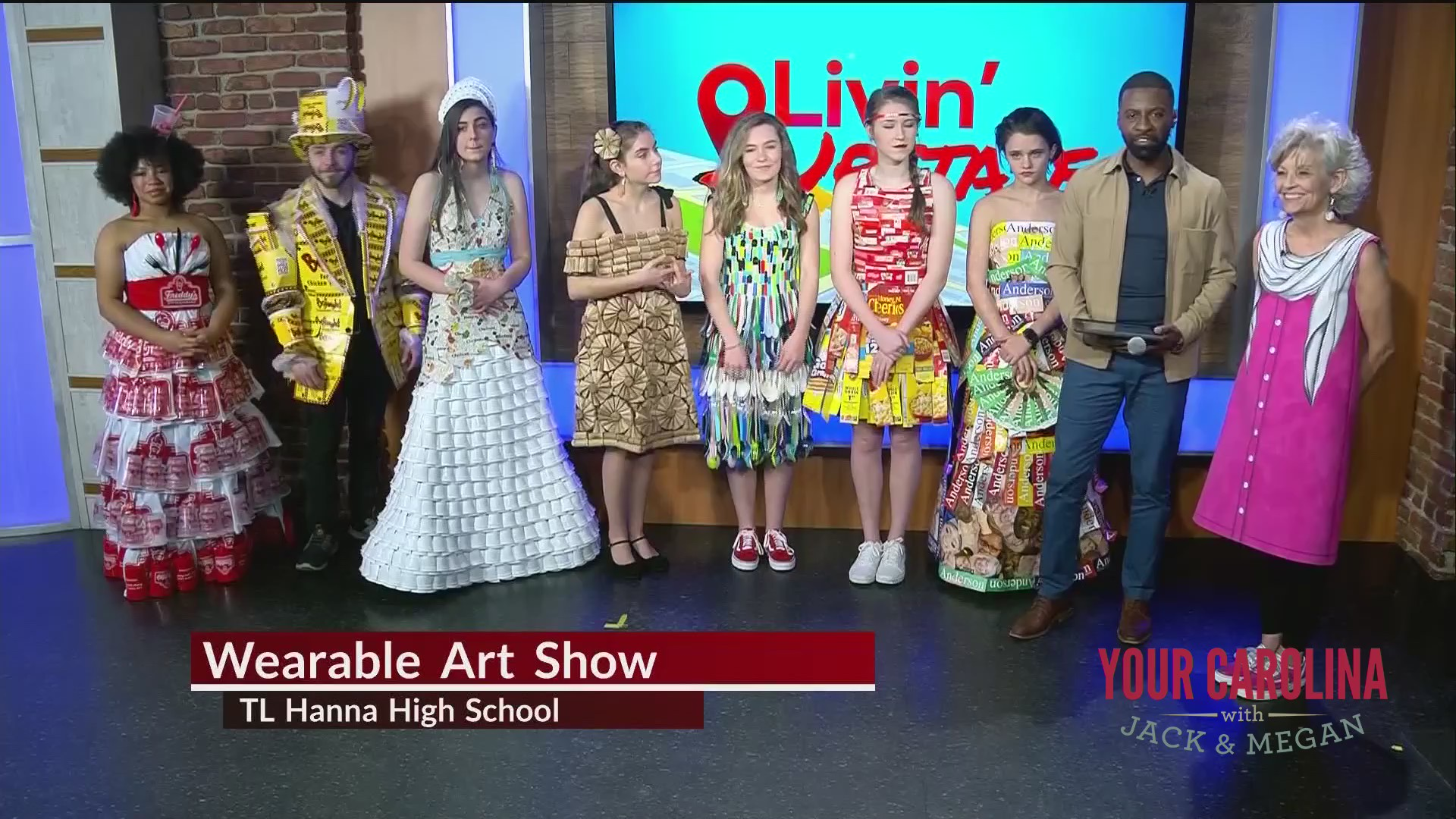 TL Hanna's Wearable Art Exhibition benefits student artists of all ages