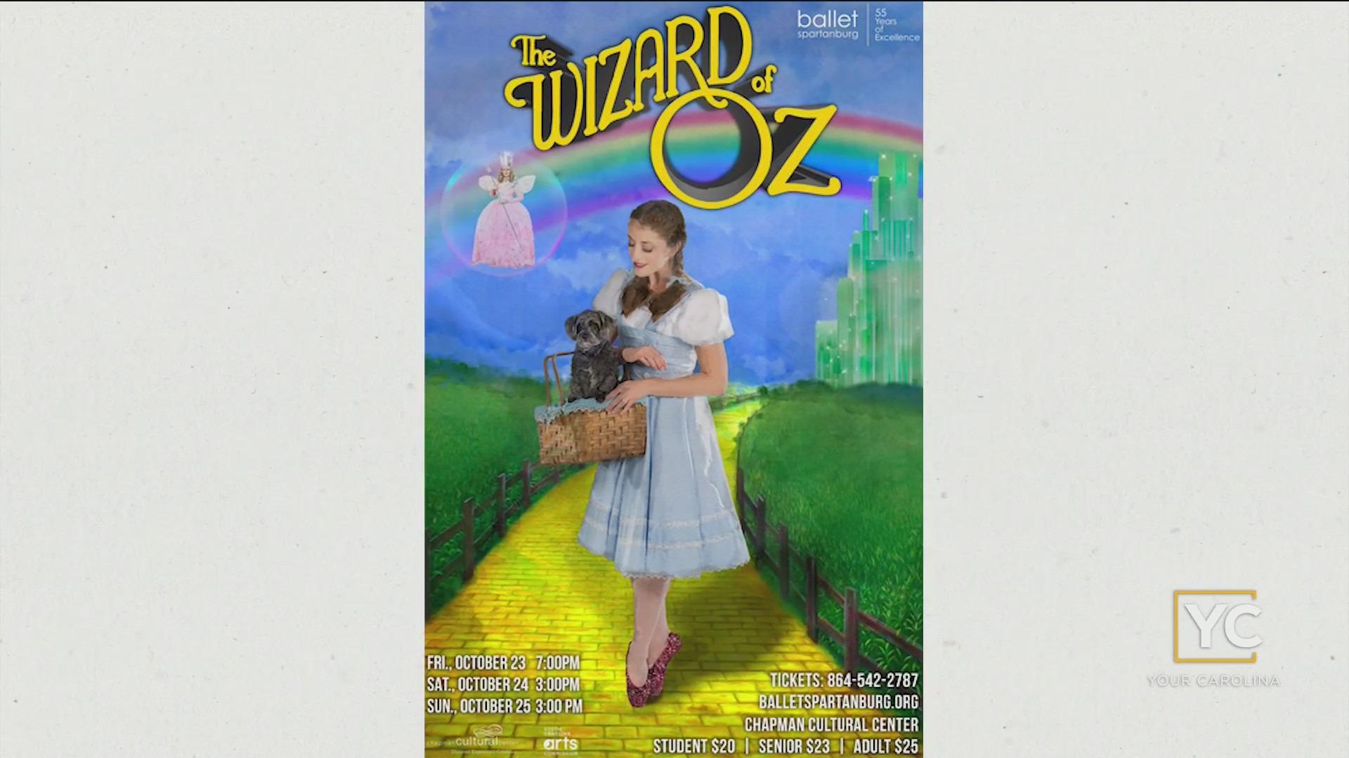 Wizard of Oz Presented By Ballet Spartanburg