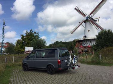 Reisefoto mit WSR Reisemobil / Camper / Caravan auf Basis des Volkswagen Transporter der 6. Generation