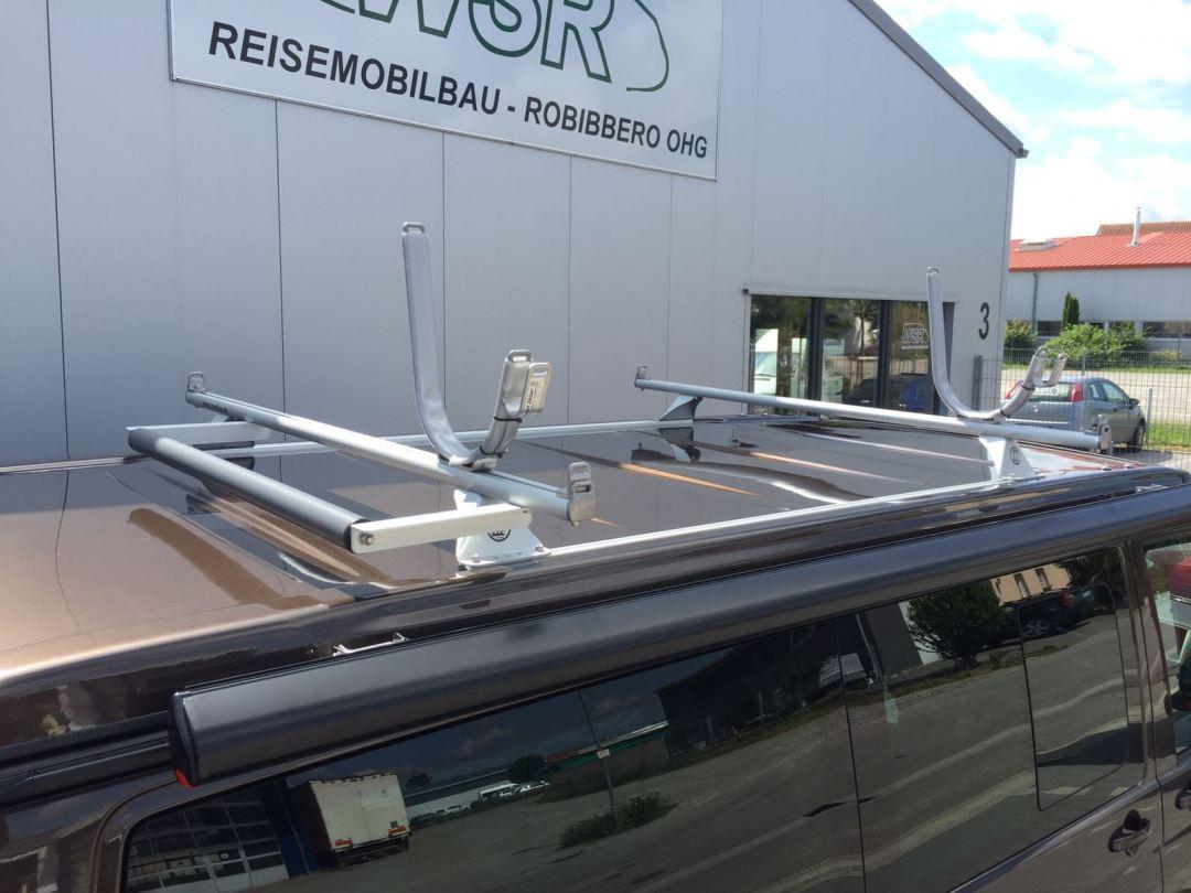 Ausgeliefertes Kundenfahrzeug mit Dachgepäckträger - WSR Reisemobil / Camper / Caravan auf Basis des Volkswagen Transporter der 6. Generation