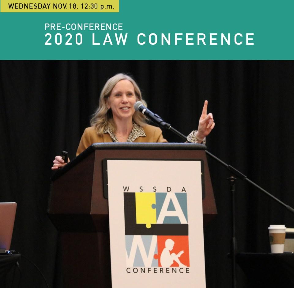 Gloria Trainor at WSSDA's Law Conference