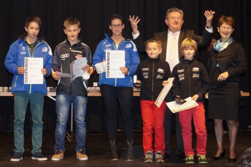 WSV Atlethen bei Sportlerehrung in Pocking