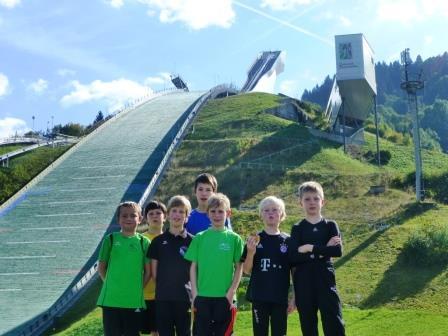 Bayerischer Schülercup in Garmisch – Rastbüchler Springer fit für den Winter